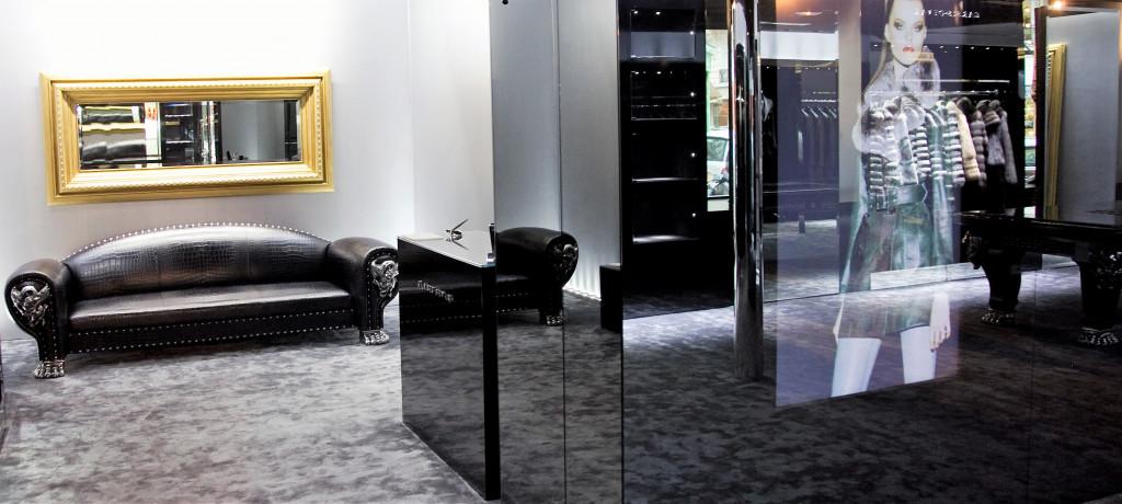 décoration intérieur boutique luxe saint tropez