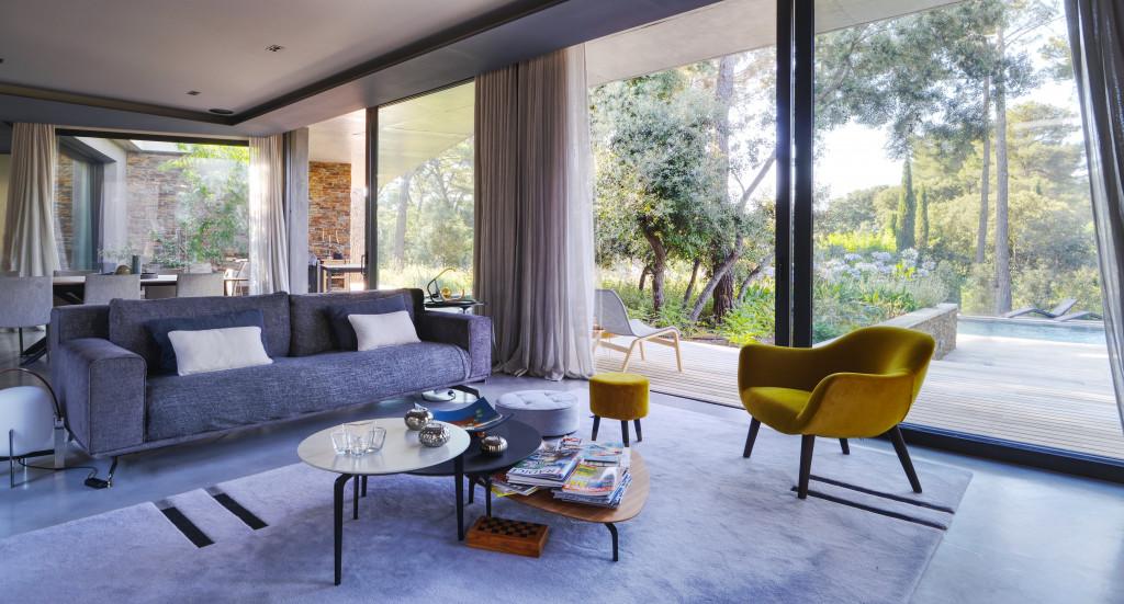 Intérieur maison contemporaine Aix en Provence